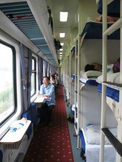 treno 3° classe Cina