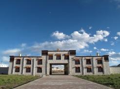 Porta d'ingresso del Monastero di Sershu Gompa