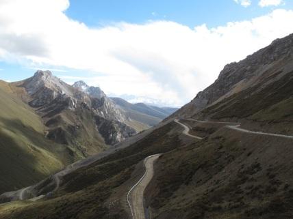 the way to Ganzi