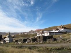Vista dal Kora di Sershu Gompa