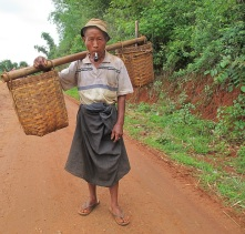 3 days trekking from Kalaw to Inle Lake180