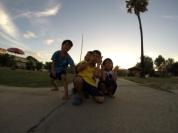 Bimbi a Ayutthaya