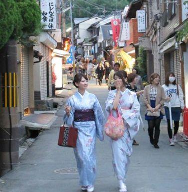 Geishe a Kyoto