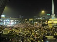 Proteste a Bangkok Thailand