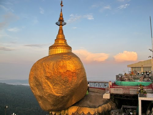 The Golden Rock Myanmar
