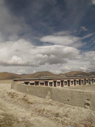 Confine con il Nepal - Zhangmu
