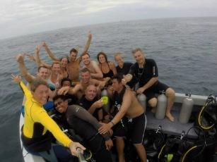 ivana diving
